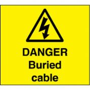 Warn119 - Danger Buried Cable